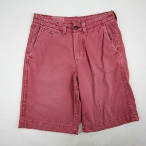 American Eagle Outfitters Men's Cargo Shorts Pink